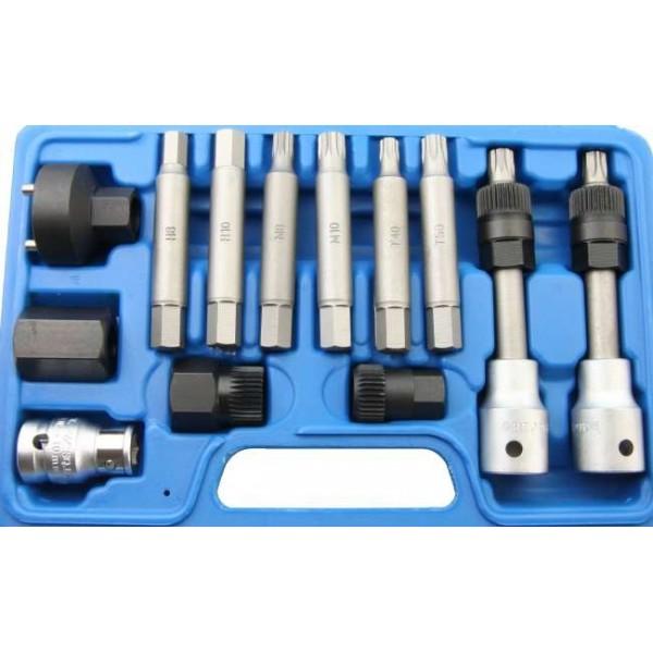 Kit pro outils de r paration pour alternateur 13 outils - Kit de reparation baignoire acrylique ...