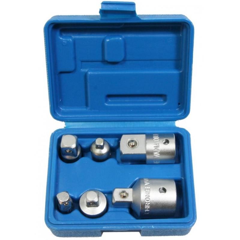 6 adaptateurs réducteur clé à cliquet