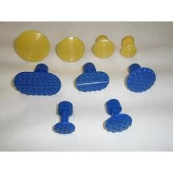 Pastille DSP jaune + bleu