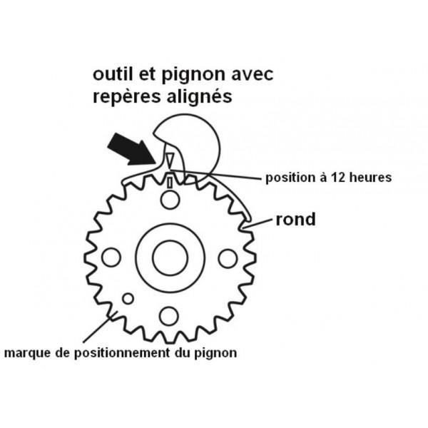 Voiture moteur réglage Calage vag vw Audi Courroie Outil skoda seat