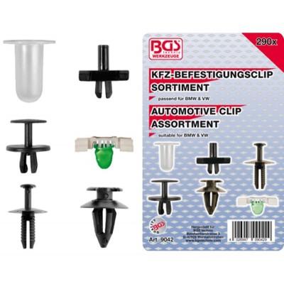 clip agraffe BMW PVC  290 Pièces