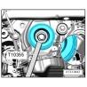 Clé de blocage poulie de vilebrequin 1.8 / 2.0 TSI TFSI Turbo