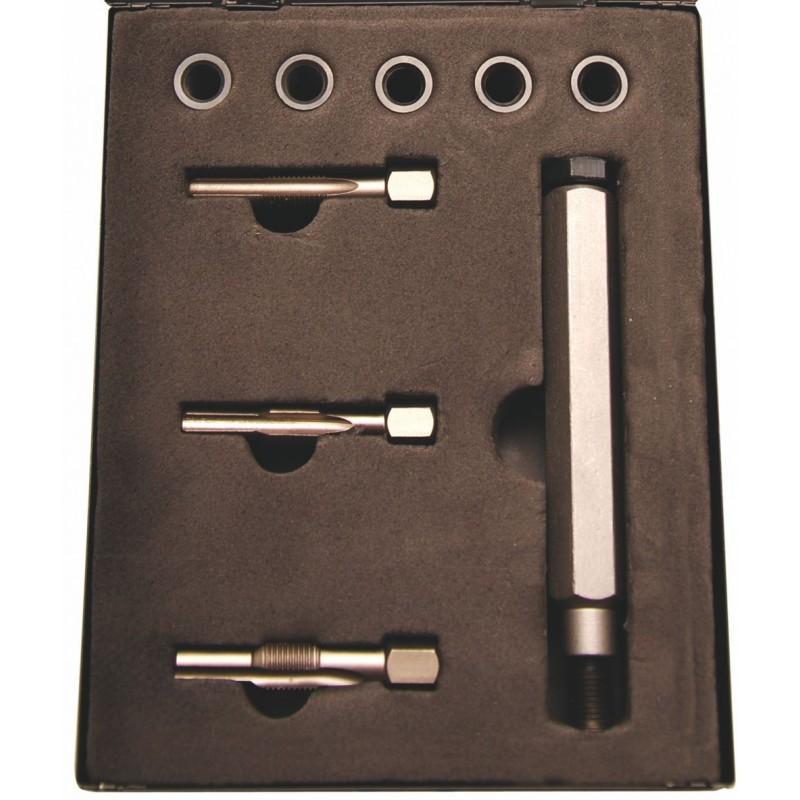 Réparation filetage bougie de préchauffage M8-M9-M10-M12