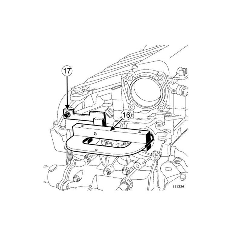 kit calage distribution renault nissan opel 1 5 1 9 2 2 2. Black Bedroom Furniture Sets. Home Design Ideas