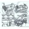 Pige Renault 1.5 - 1,9L DCI calage distribution