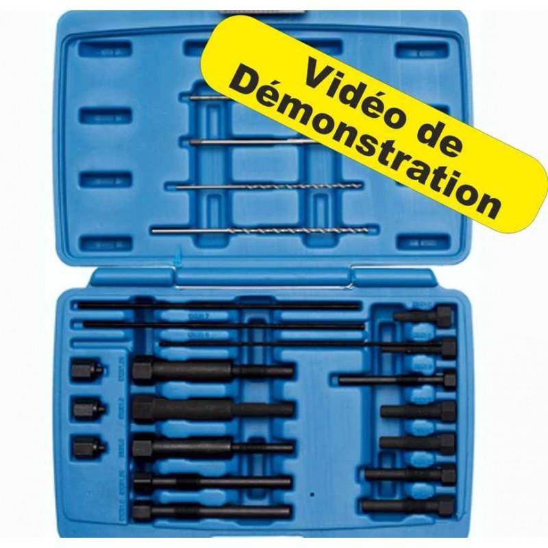 Kit extracteur électrode de bougie de préchauffage