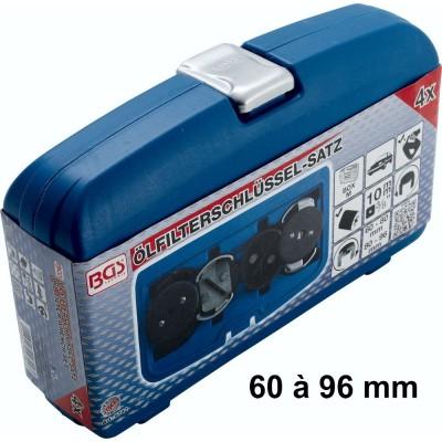 Cloche filtre à huile 60 à 96 mm autobloquant