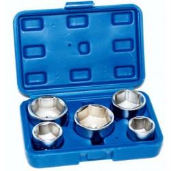 Douilles filtre à huile 24 27 32 36 38 mm