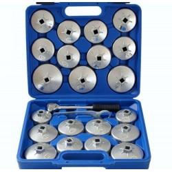 cloche filtre à huile Aluminium 23 pièces