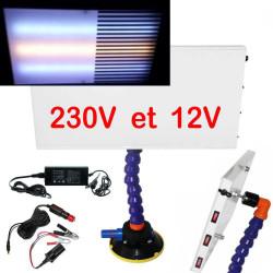 Lampe 1 Pro LED 230V -12V débosselage sans peinture