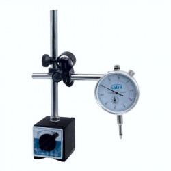 Comparateur pompe injection avec support magnétique