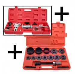 Kit Arrache moyeux + roulements Set 2