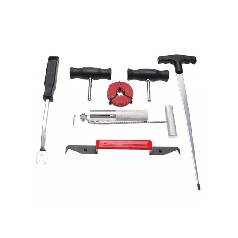 kit outils d montage pare brise coll. Black Bedroom Furniture Sets. Home Design Ideas