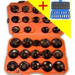 Kit PRO 30 Cloches + 17 Douilles pour Vidange