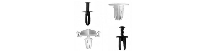 Clips  agrafes pour garnitures pvc