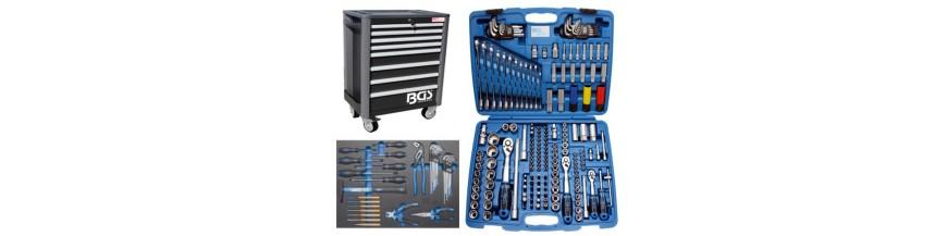 Servante caisse à outils auto moto complète