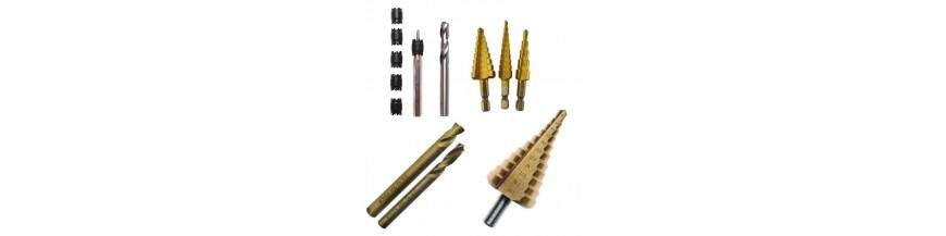 kit  outils de perçage et taraud