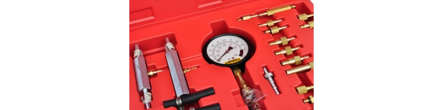 Mesure pression huile essence