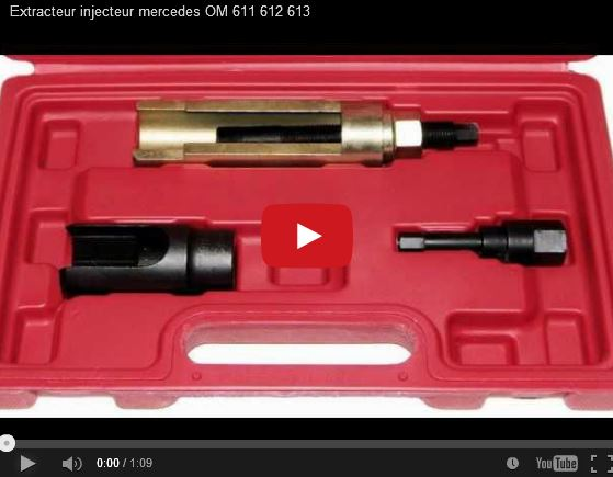 Extracteur pour injecteurs moteurs CDI Mercedes