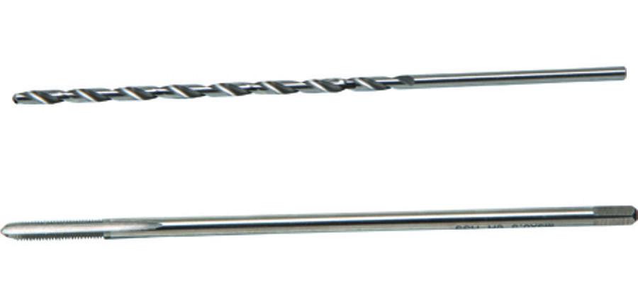 foret et taraud long spécial kit extracteur électrode de bougie de préchauffage
