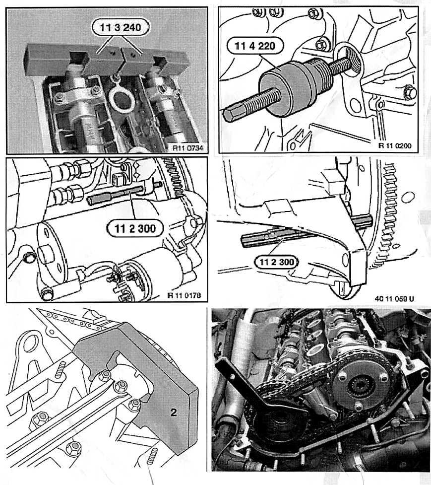 Kit pige outil calage distribution BMW M42 M44 M50 M52 M54 M56 OEM 112300 113190 113240 114220 115490 113290 116150